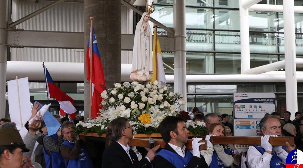Fatima aeropuerto santiago chile